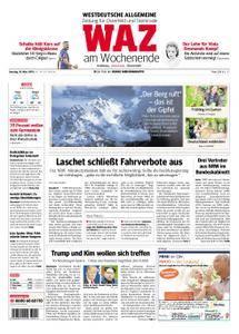 WAZ Westdeutsche Allgemeine Zeitung Oberhausen-Sterkrade - 10. März 2018