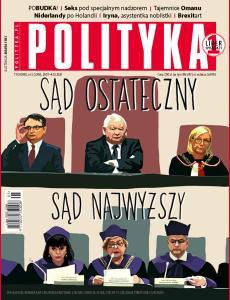 Tygodnik Polityka • 29 stycznia 2020