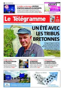 Le Télégramme Quimper – 13 juillet 2020