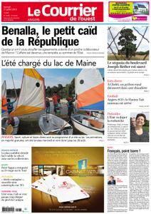 Le Courrier de l'Ouest Angers - 21 juillet 2018