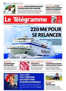 Le Télégramme Ouest Cornouaille – 21 juillet 2021