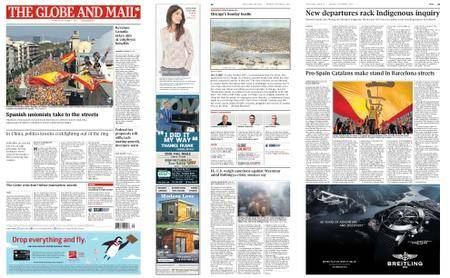 The Globe and Mail – October 09, 2017