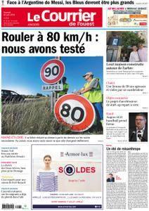 Le Courrier de l'Ouest Angers - 30 juin 2018