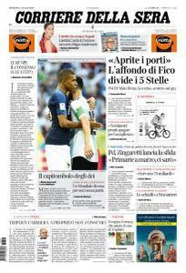 Corriere della Sera - 1 Luglio 2018