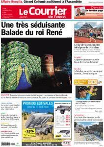 Le Courrier de l'Ouest Angers - 23 juillet 2018