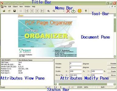 Portable Foxit PDF Editor v1.4