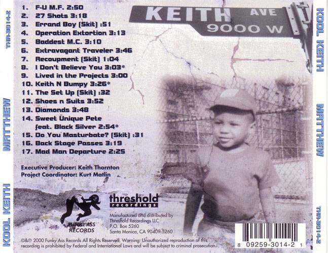 Kool Keith - Matthew (2000) {Funky Ass} **[RE-UP]**