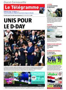 Le Télégramme Ouest Cornouaille – 07 juin 2019