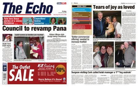 Evening Echo – December 20, 2019