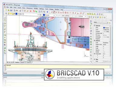 BricsCad Pro v10.2.8 Portable