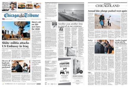 Chicago Tribune – January 01, 2020