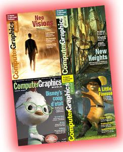All Computer Graphics World 2003-2005 Editions