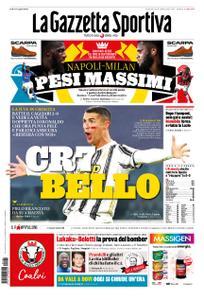La Gazzetta dello Sport Roma – 22 novembre 2020