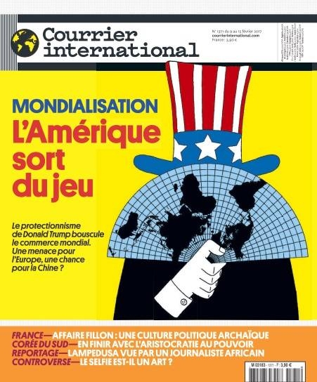 Courrier international - 9 au 15 Février 2017