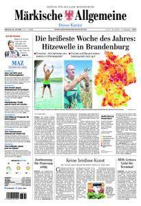 Märkische Allgemeine Dosse Kurier - 25. Juli 2018