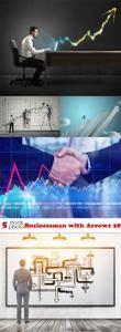 Photos - Businessman with Arrows 28