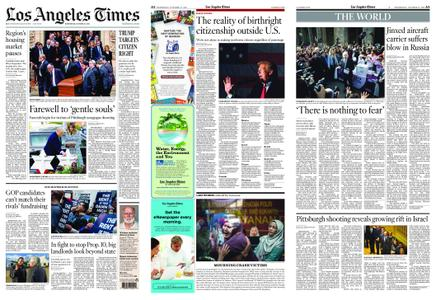 Los Angeles Times – October 31, 2018