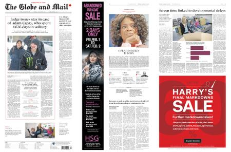 The Globe and Mail – January 29, 2019