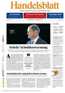 Handelsblatt - 11. Oktober 2018