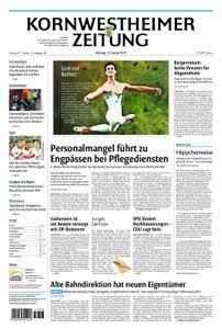 Kornwestheimer Zeitung - 15. Januar 2018