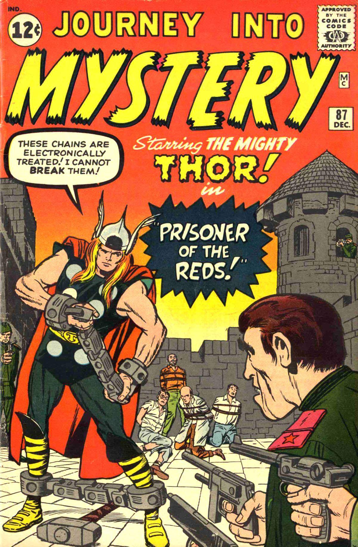 For Intruder [5 of 54] Thor [1962-12] Journey Into Mystery 087 ctc cbz