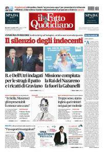 Il Fatto Quotidiano - 1 Novembre 2017