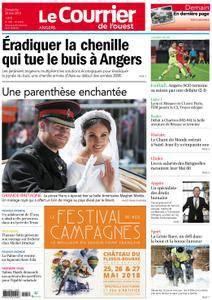 Le Courrier de l'Ouest Angers - 20 mai 2018