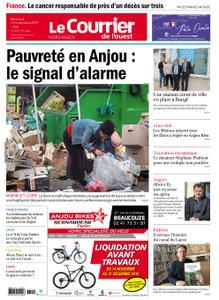 Le Courrier de l'Ouest Nord Anjou – 13 novembre 2019