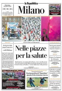 la Repubblica Milano - 21 Giugno 2020