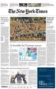 International New York Times - 19 September 2018