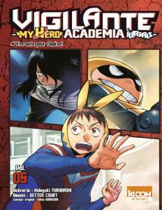 Vigilante - My Hero Academia Illegals - 05 Tomes