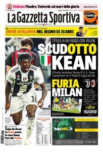La Gazzetta dello Sport Roma – 07 aprile 2019