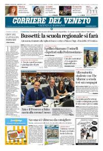 Corriere del Veneto Vicenza e Bassano – 07 luglio 2019
