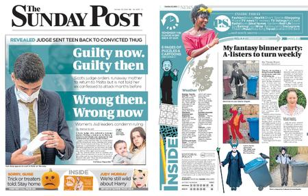 The Sunday Post Scottish Edition – October 25, 2020