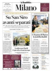 la Repubblica Milano - 4 Dicembre 2019