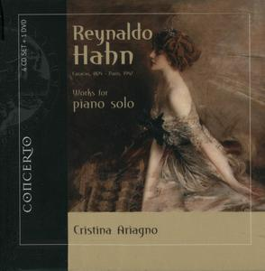 Reynaldo Hahn - Works for piano solo (2012) {4CD+DVD Box Set, Concerto Box 2015}