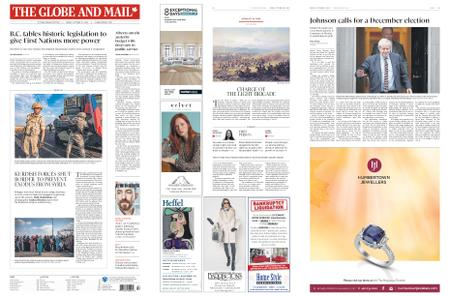 The Globe and Mail – October 25, 2019