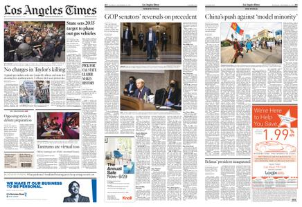 Los Angeles Times – September 24, 2020