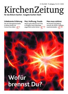 KirchenZeitung für das Bistum Aachen – 31. Mai 2020