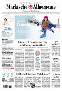 Märkische Allgemeine Zossener Rundschau - 02. Februar 2019