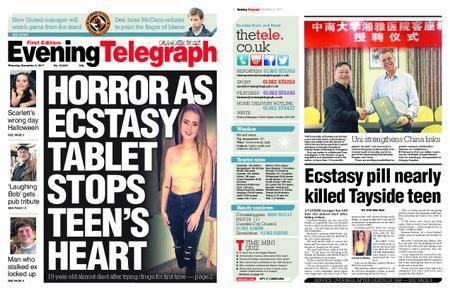Evening Telegraph First Edition – November 02, 2017