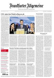 Frankfurter Allgemeine Zeitung F.A.Z. - 15. Oktober 2018
