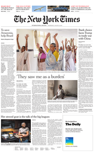 International New York Times - 28 August 2019