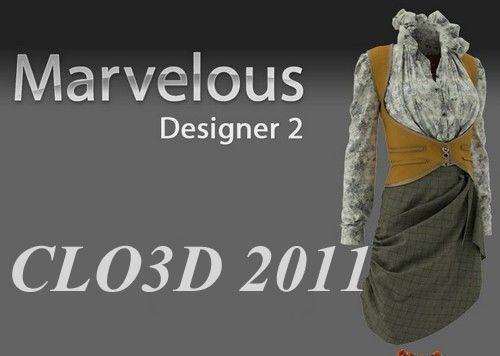 Clo Virtual Fashion Marvelous Designer 2 V3 32 X86 X64 Avaxhome