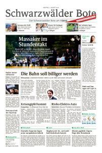 Schwarzwälder Bote Hechingen - 05. August 2019