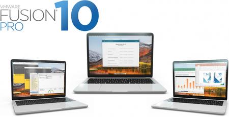 VMware Fusion Pro 10.1.5 Build 10950653 macOS