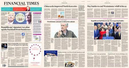 Financial Times Europe – 03 November 2017