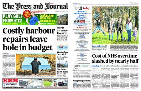 The Press and Journal Moray – March 20, 2018