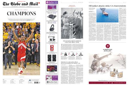 The Globe and Mail – June 14, 2019