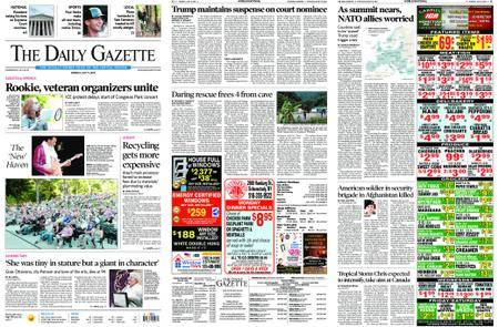 The Daily Gazette – July 09, 2018